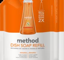Method Washing Up Liquid Clementine Refill