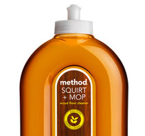 Method Squirt + Mop Wood Floor Cleaner Almond